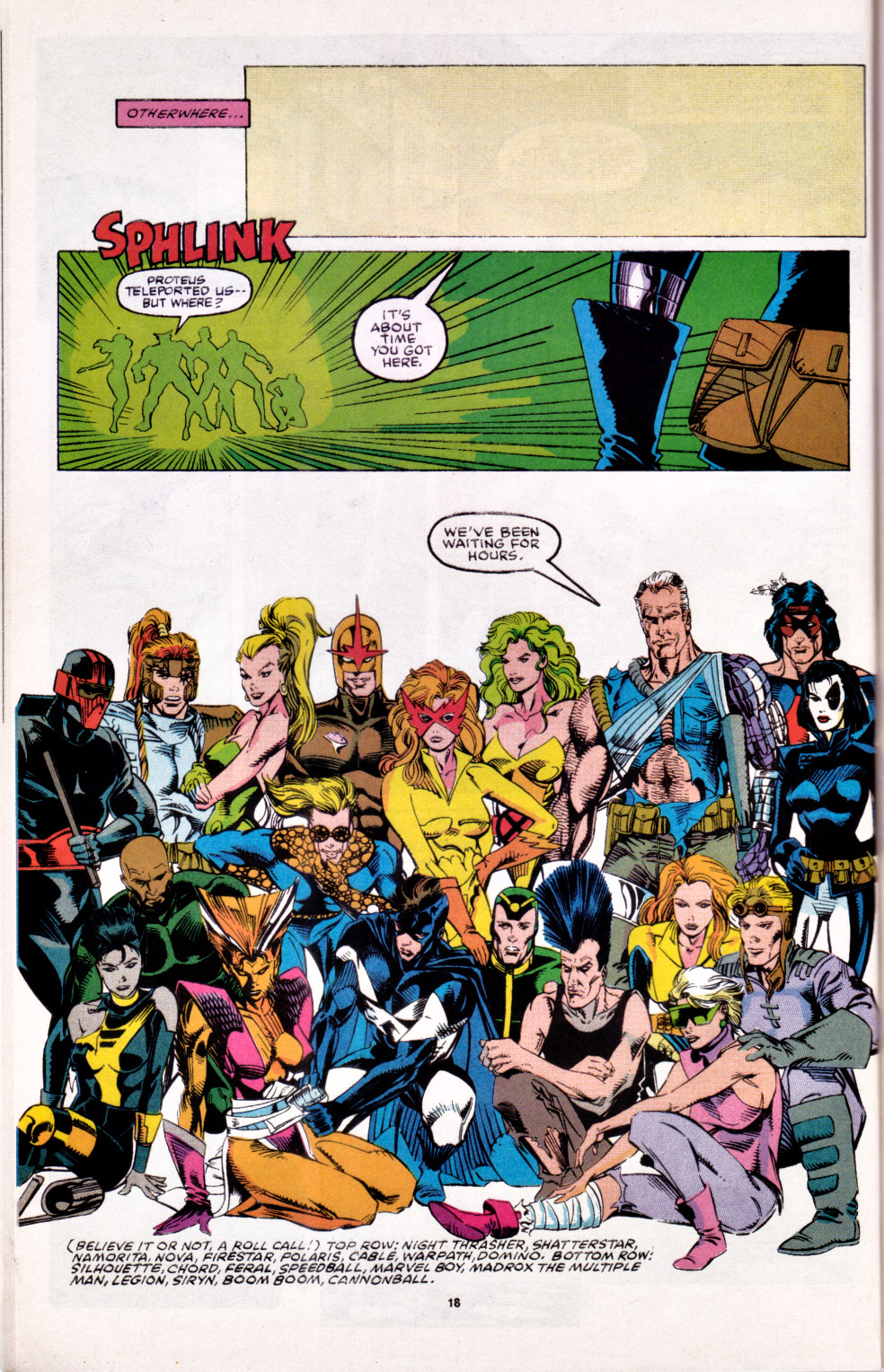 Read online X-Factor (1986) comic -  Issue # _ Annual 6 - 16