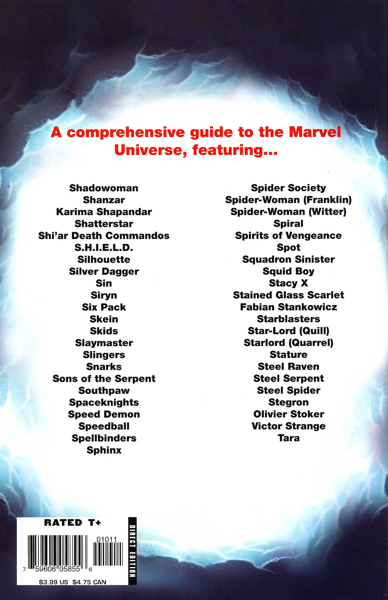 Read online All-New Official Handbook of the Marvel Universe A to Z comic -  Issue #10 - 67