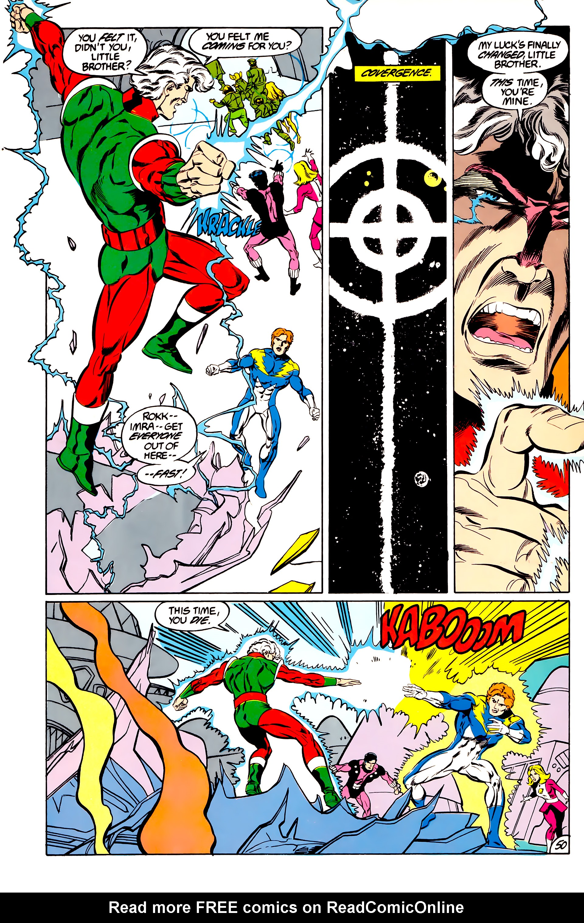 Legion of Super-Heroes (1984) 45 Page 49
