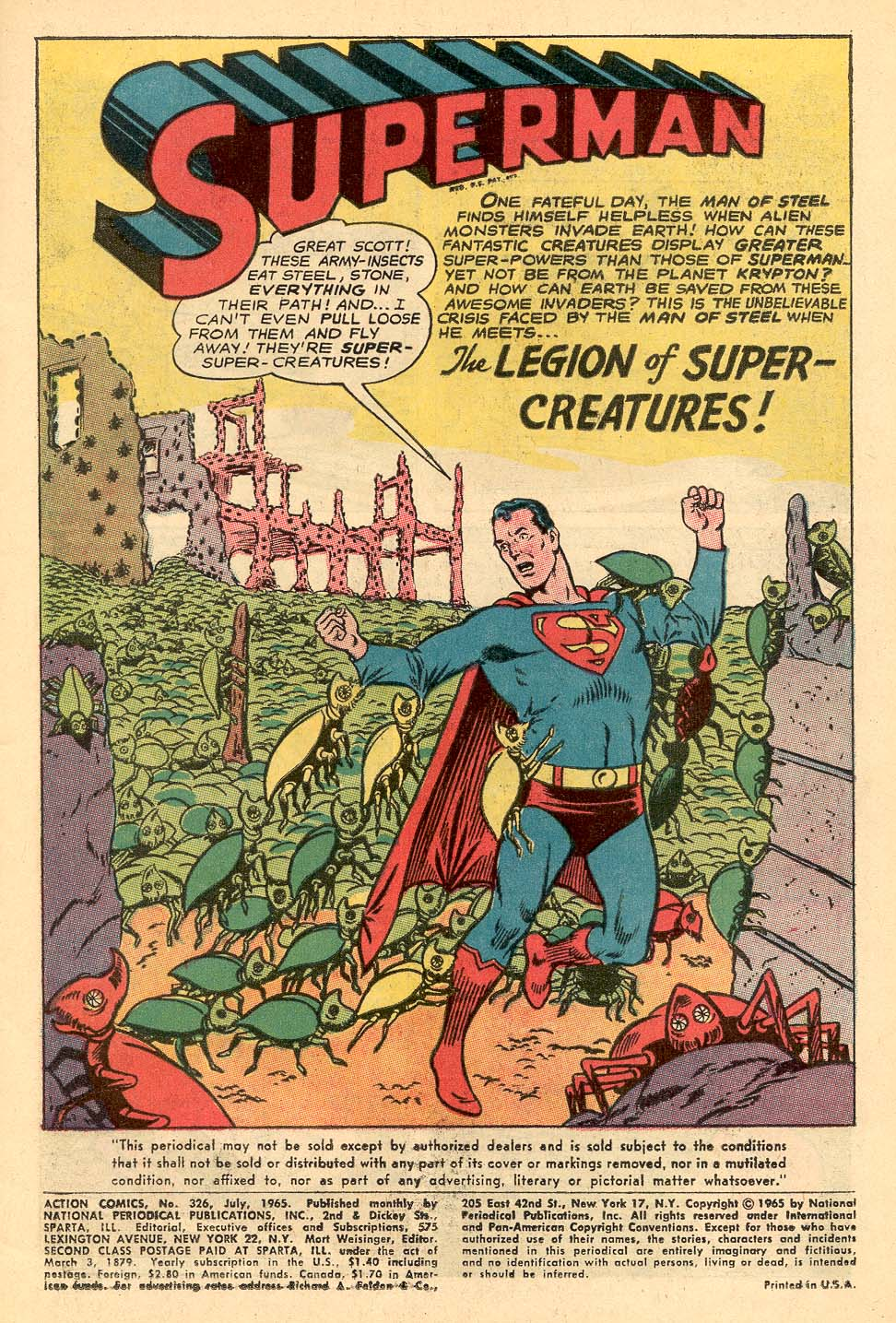 Read online Action Comics (1938) comic -  Issue #326 - 3