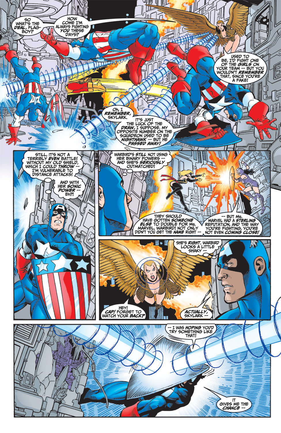 Read online Avengers (1998) comic -  Issue #6 - 16