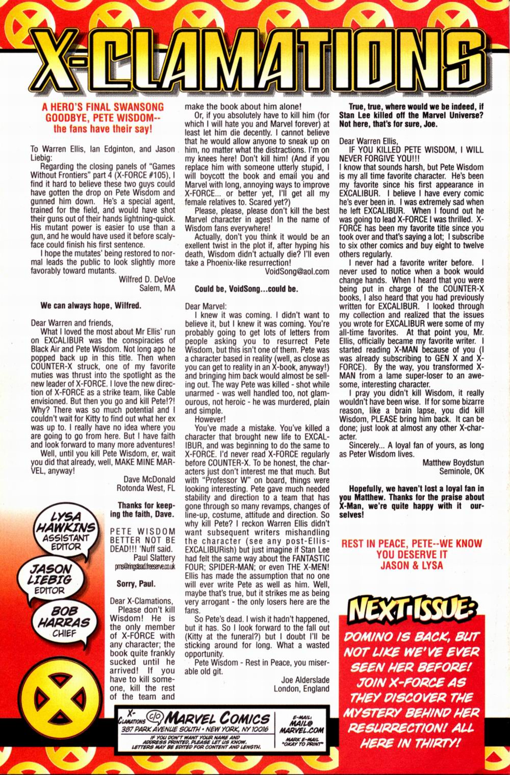 Read online X-Force (1991) comic -  Issue #107 - 25