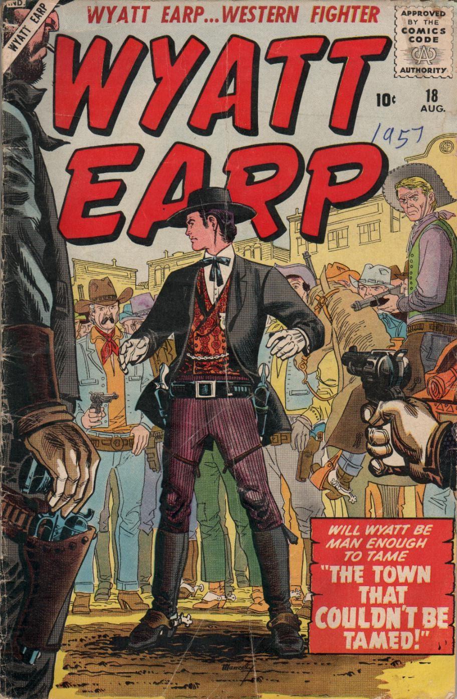 Wyatt Earp issue 18 - Page 1