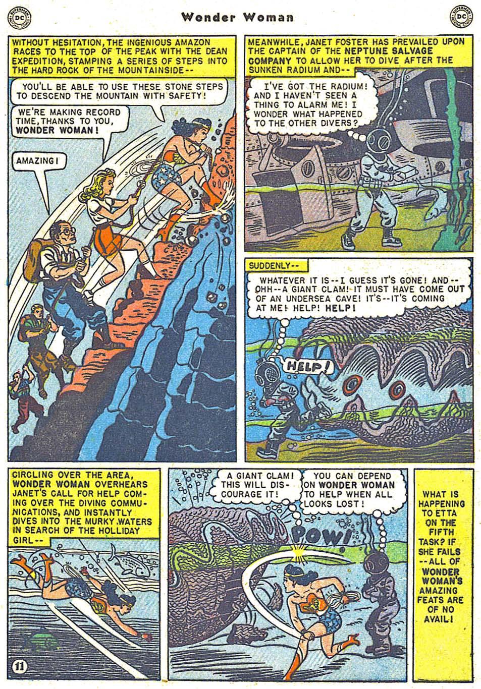 Read online Wonder Woman (1942) comic -  Issue #38 - 47