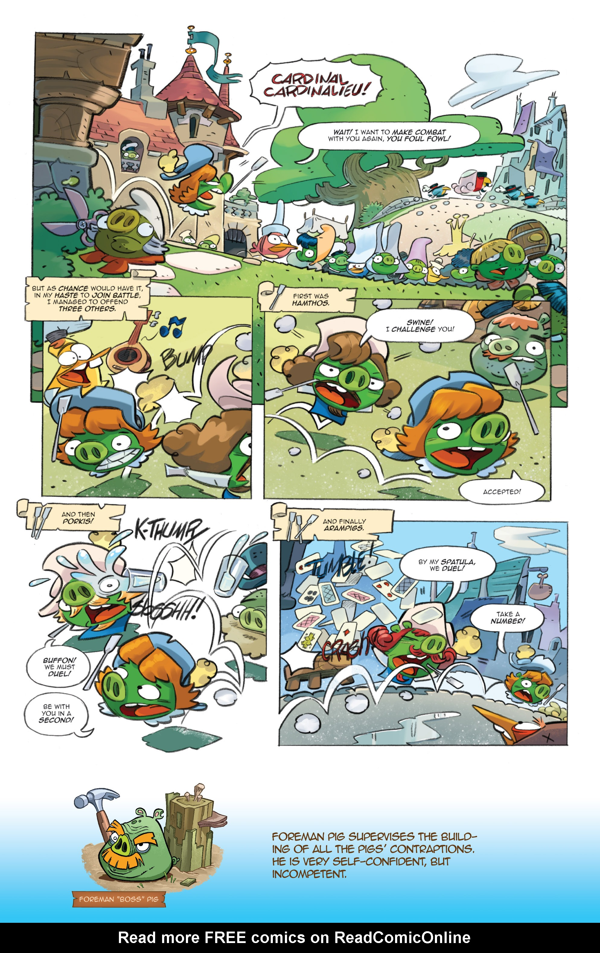 Read online Angry Birds Comics (2016) comic -  Issue #1 - 16