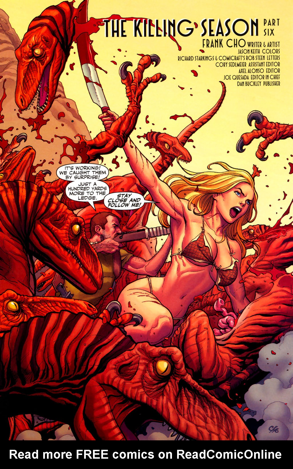 Read online Shanna, the She-Devil (2005) comic -  Issue #6 - 5