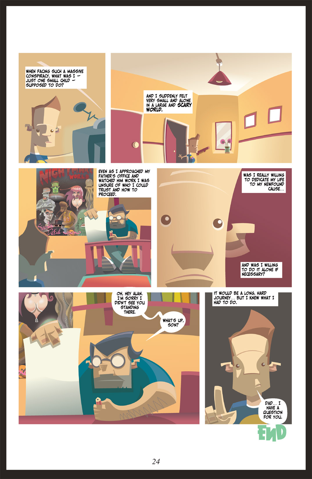 Read online Nightmare World comic -  Issue # Vol. 2 Leave the Light On - 25