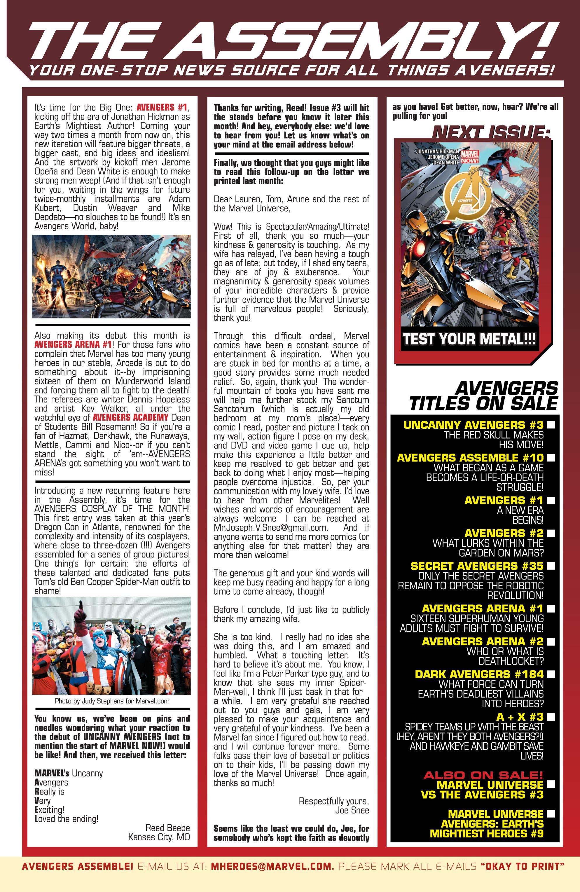 Read online Avengers (2013) comic -  Issue #Avengers (2013) _TPB 1 - 52