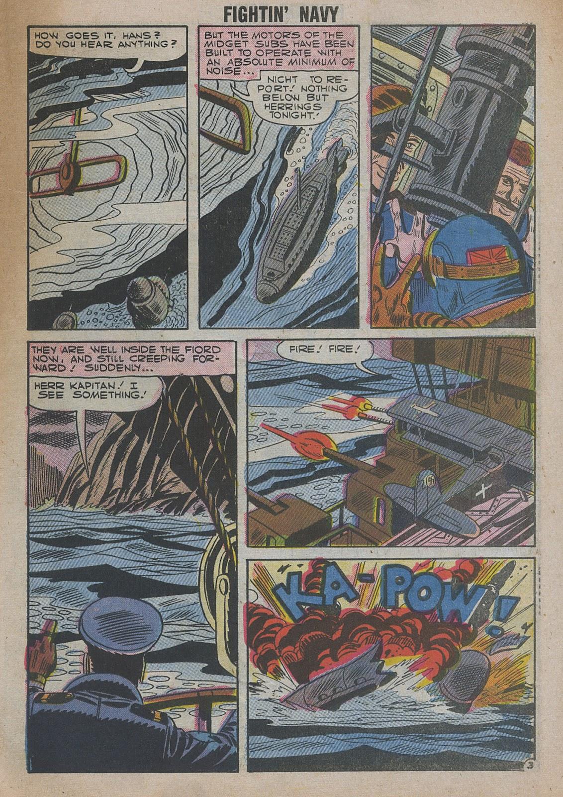 Read online Fightin' Navy comic -  Issue #82 - 61