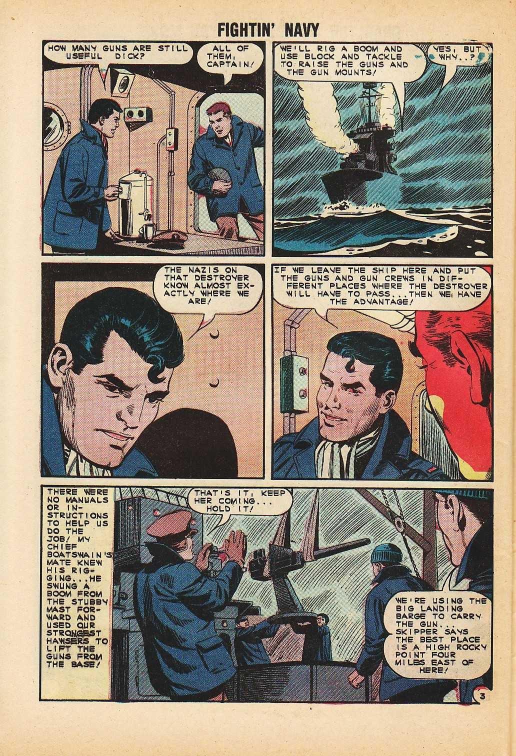 Read online Fightin' Navy comic -  Issue #116 - 28