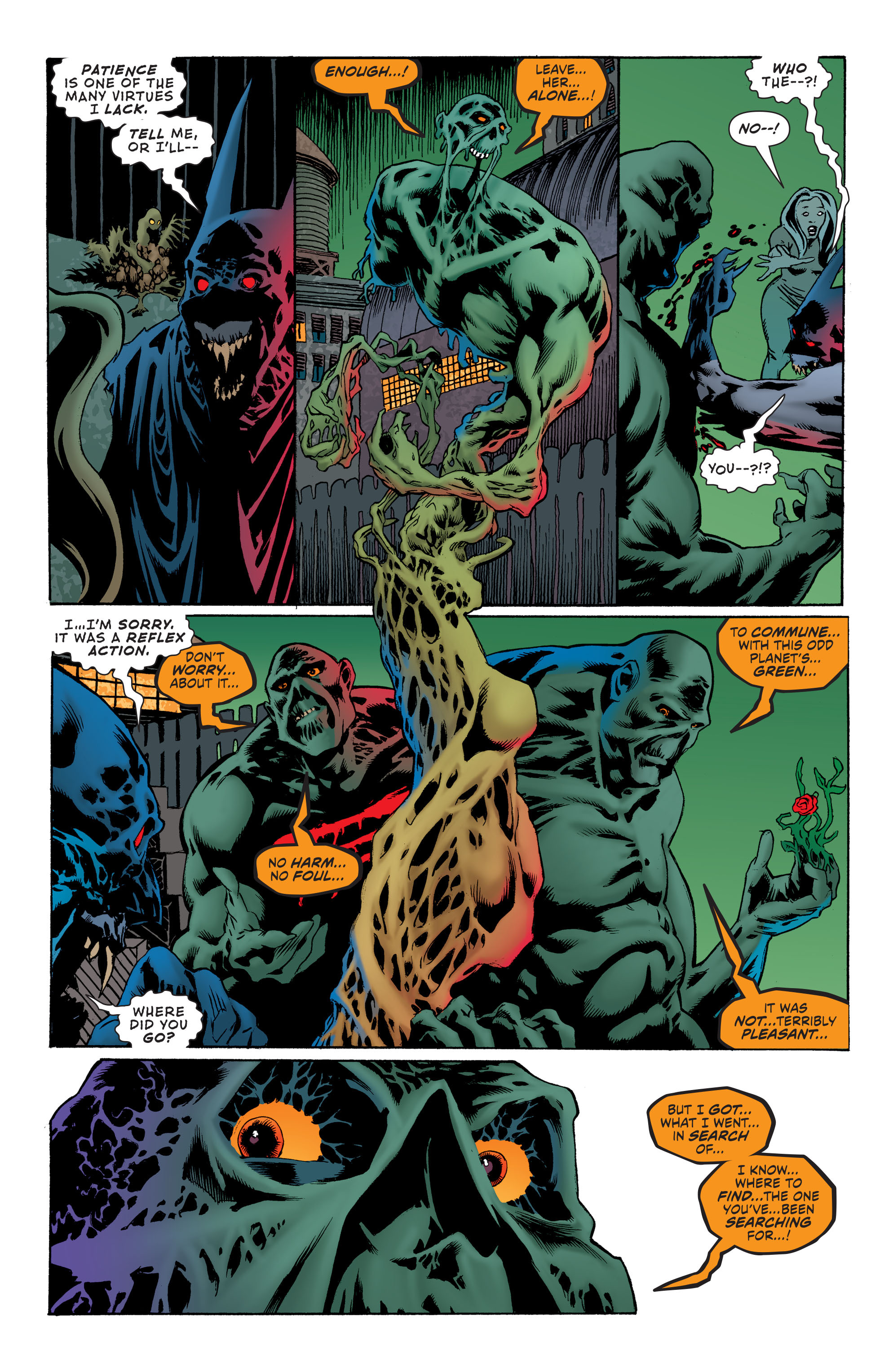 Read online Convergence Swamp Thing comic -  Issue #2 - 16