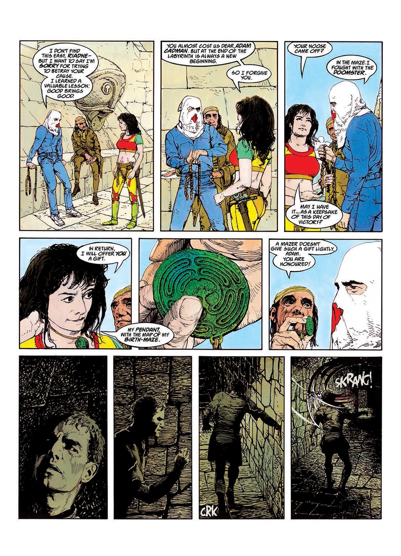 Read online Mazeworld comic -  Issue # TPB - 60