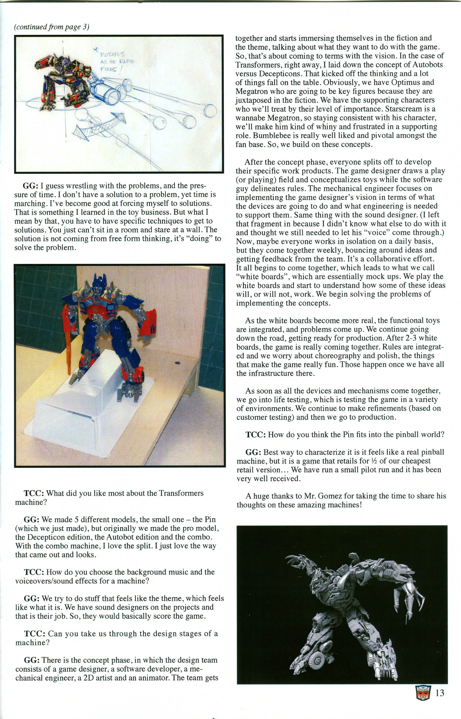 Read online Transformers: Collectors' Club comic -  Issue #52 - 13