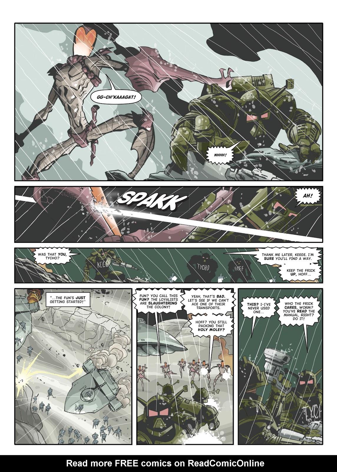 Judge Dredd Megazine (Vol. 5) Issue #381 #180 - English 83