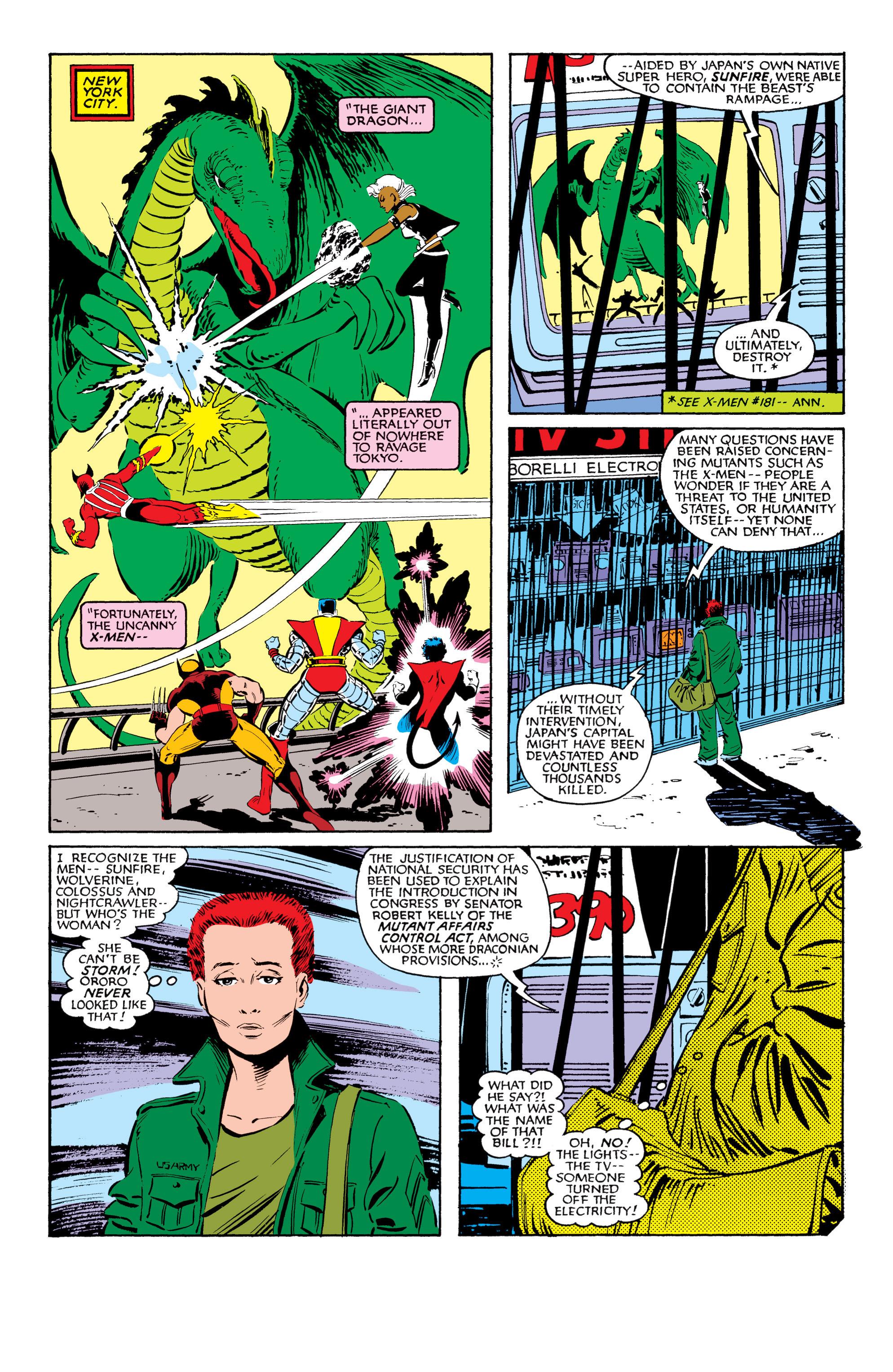Read online Uncanny X-Men (1963) comic -  Issue #184 - 7