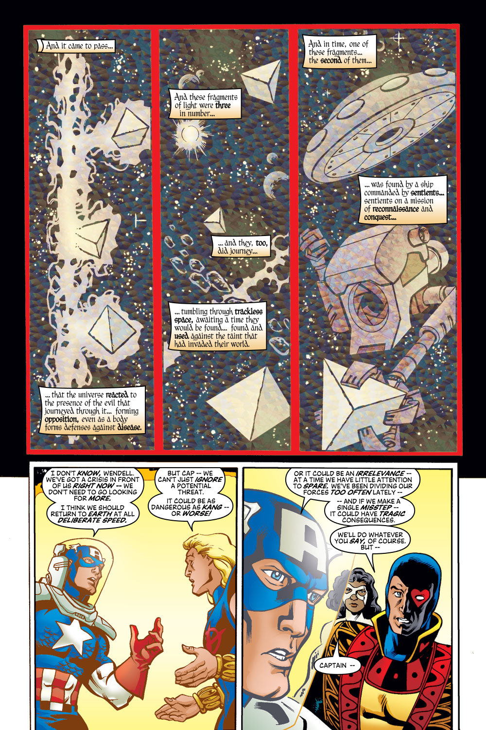 Read online Avengers (1998) comic -  Issue #50 - 5
