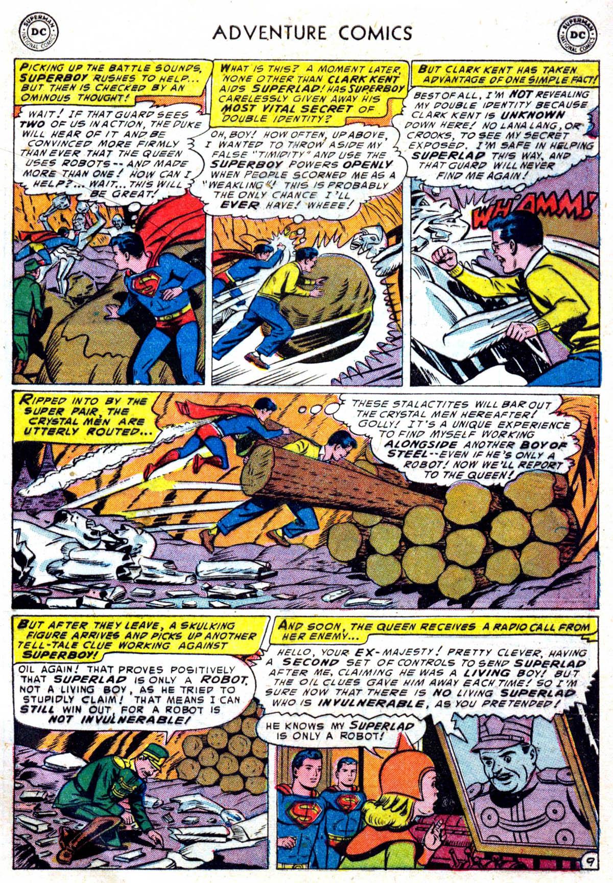 Read online Adventure Comics (1938) comic -  Issue #199 - 10