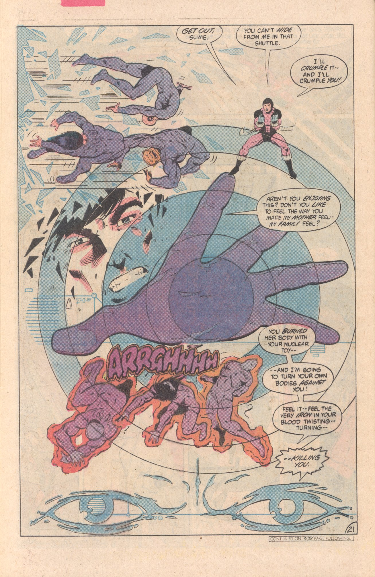 Legion of Super-Heroes (1980) 297 Page 21