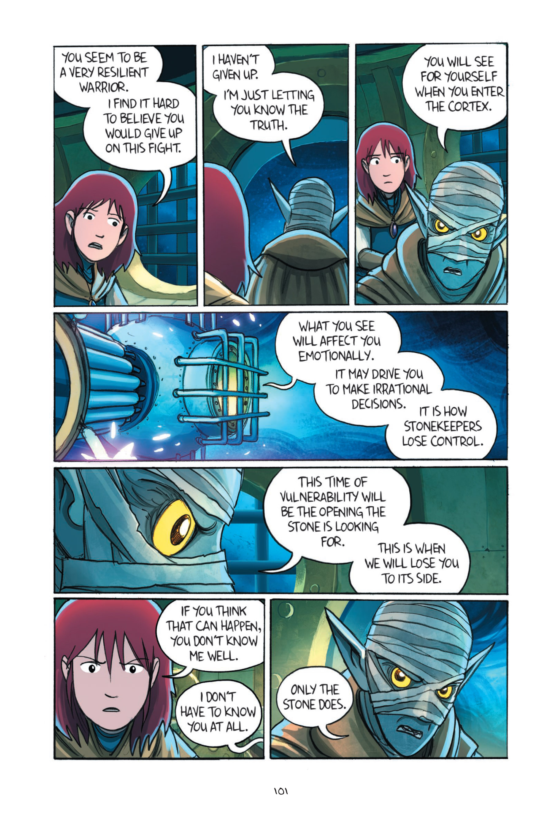 Read online Amulet comic -  Issue #7 - 102
