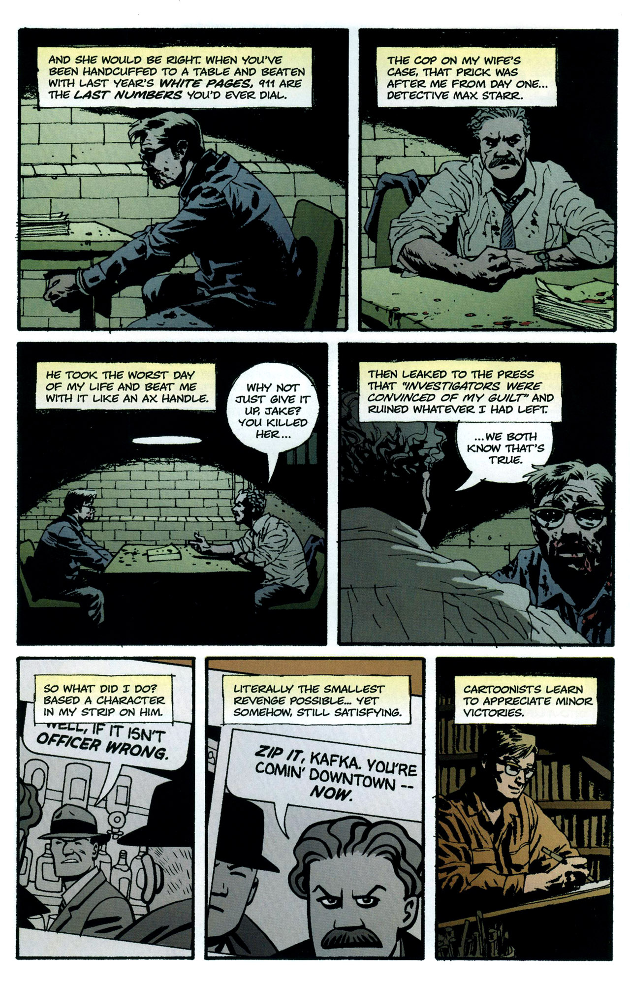 Read online Criminal (2008) comic -  Issue #5 - 8