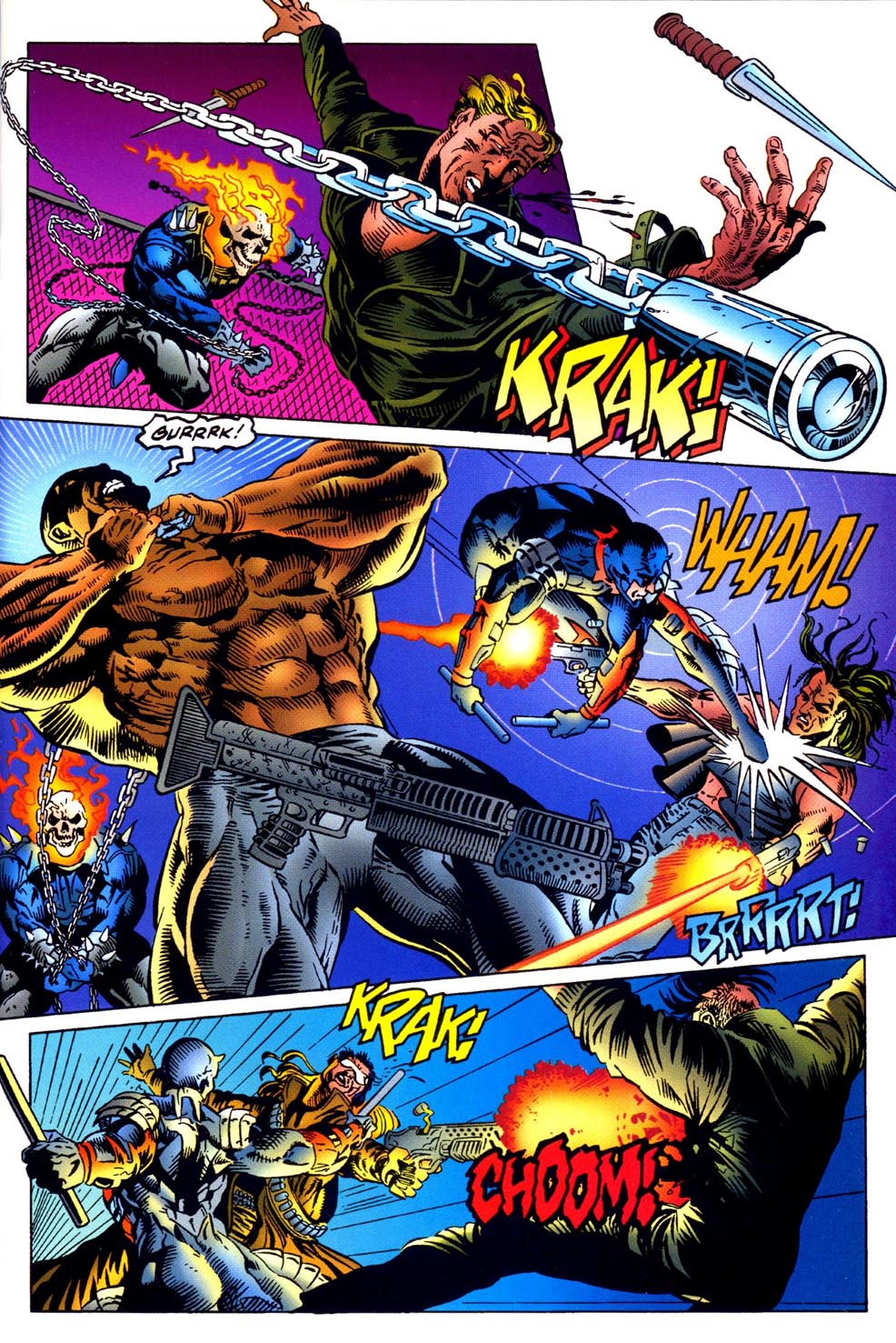 Read online Double Edge comic -  Issue # Issue Omega - 16