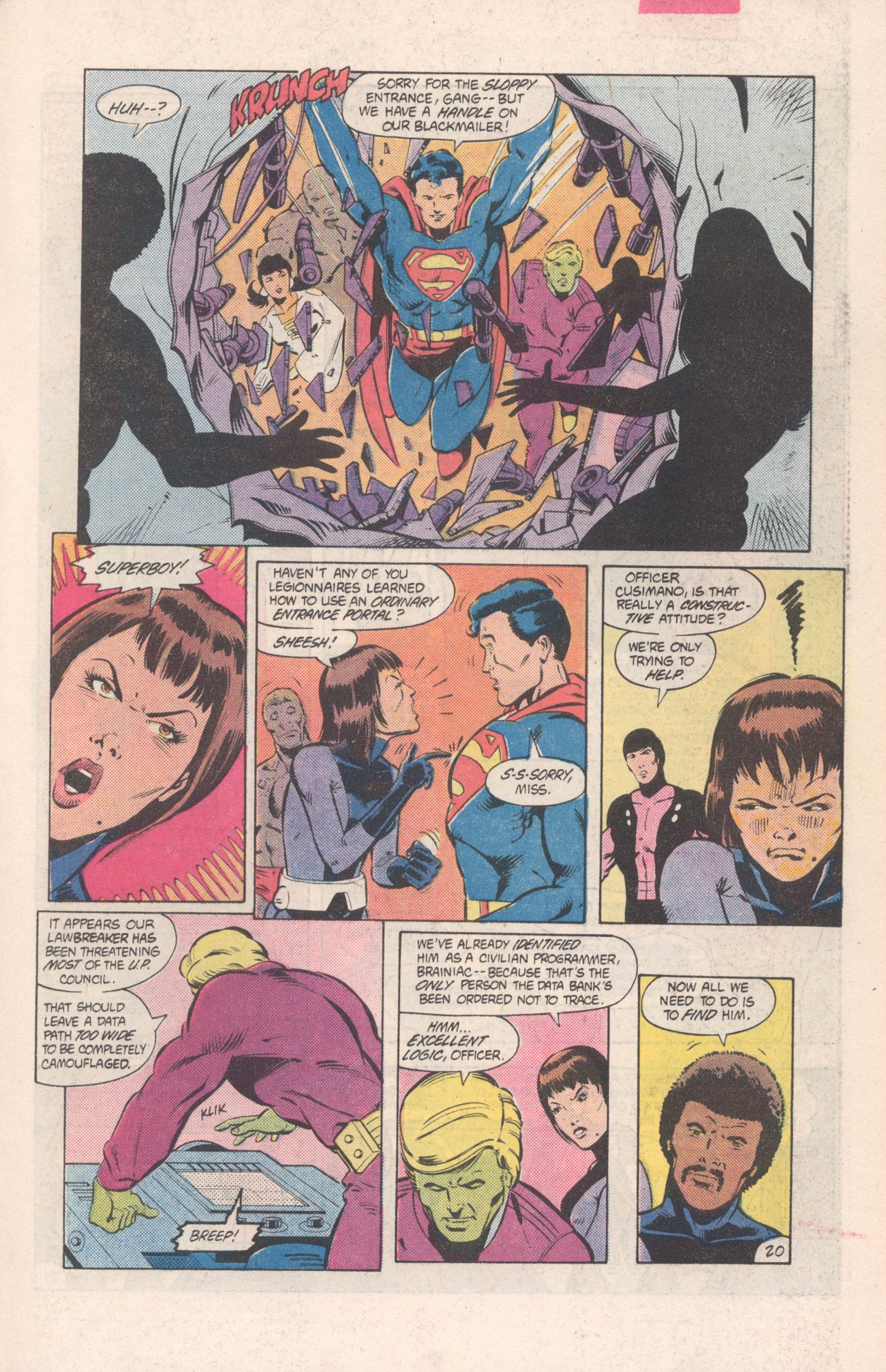Legion of Super-Heroes (1980) 313 Page 20