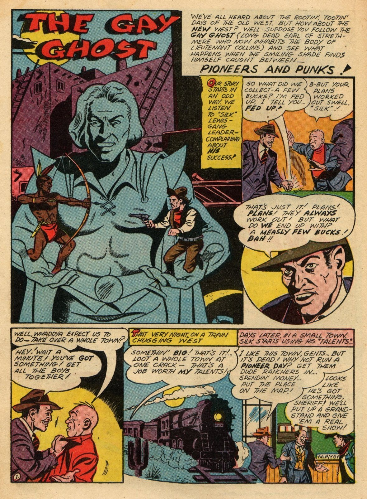 Read online Sensation (Mystery) Comics comic -  Issue #22 - 31