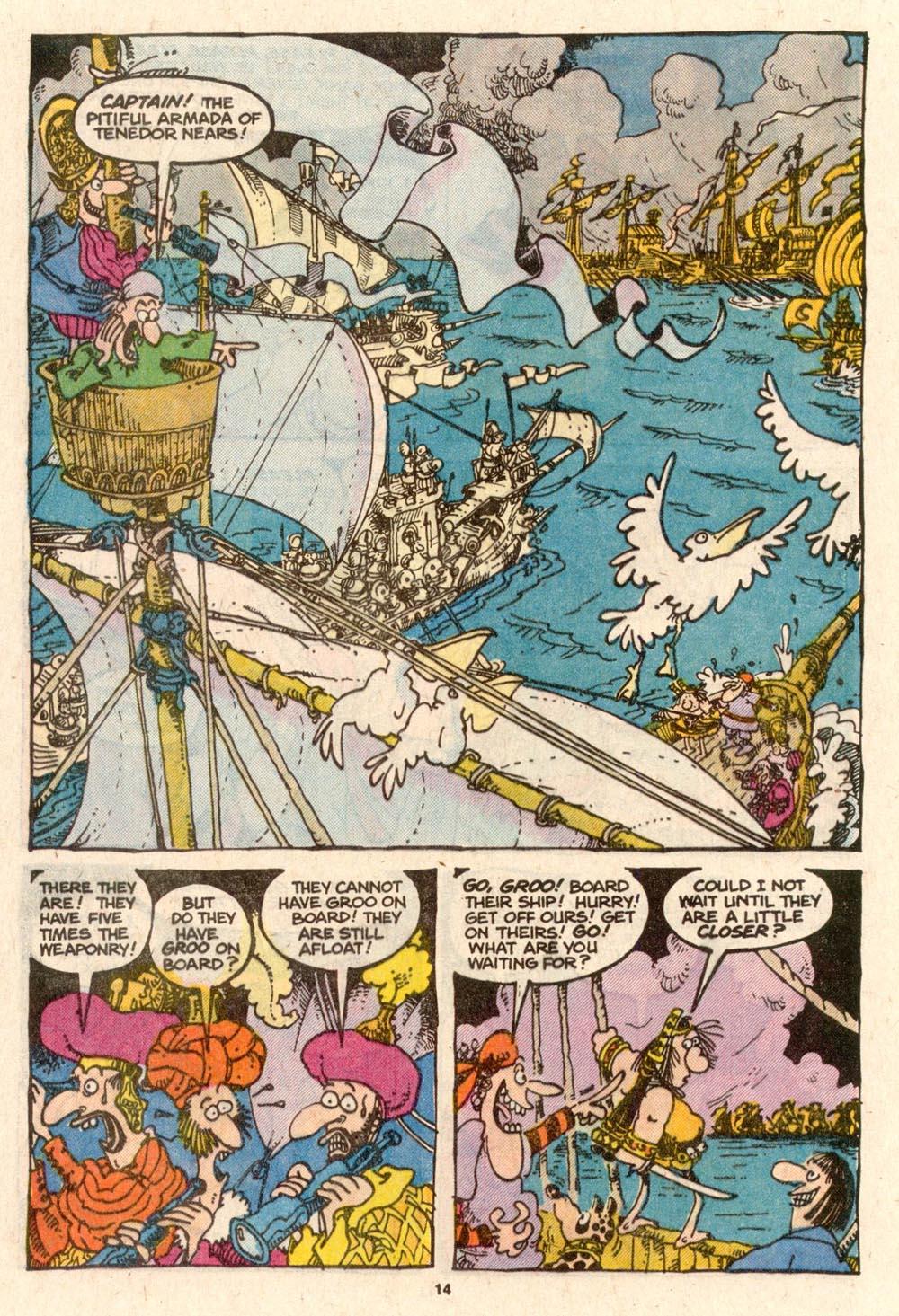 Read online Sergio Aragonés Groo the Wanderer comic -  Issue #54 - 14