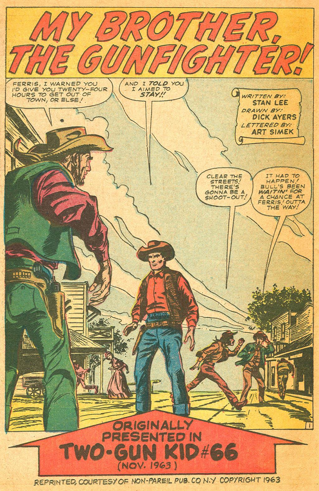 Read online Two-Gun Kid comic -  Issue #87 - 26