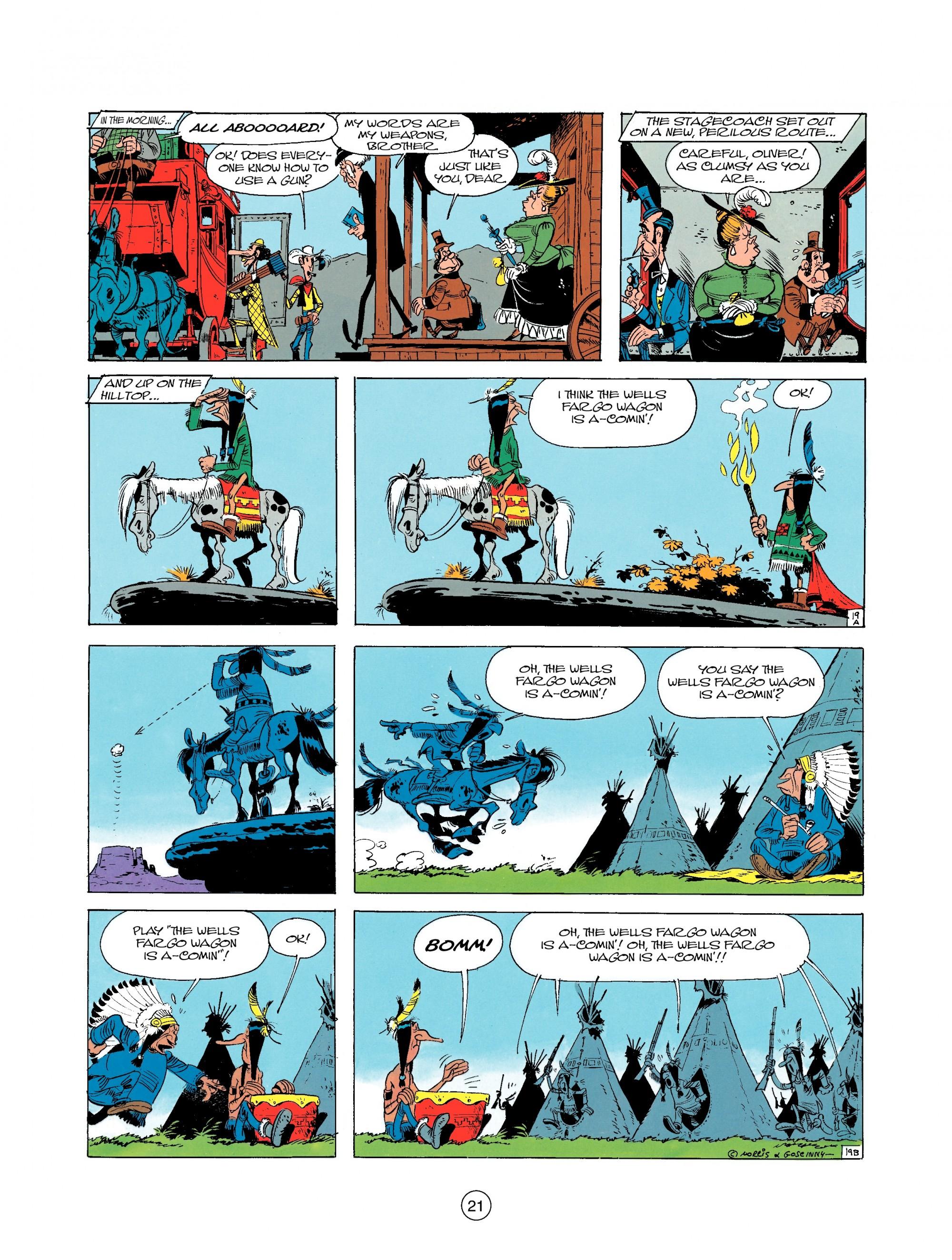 Read online A Lucky Luke Adventure comic -  Issue #25 - 21