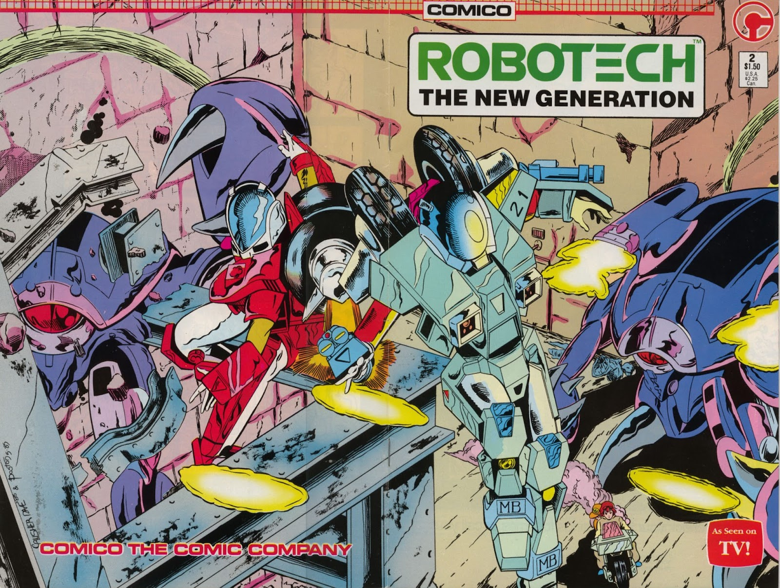 Robotech The New Generation issue 2 - Page 1