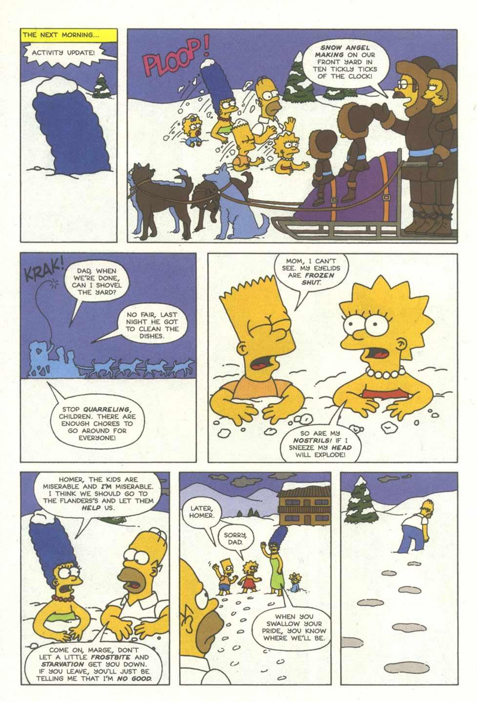 Read online Simpsons Comics comic -  Issue #12 - 15