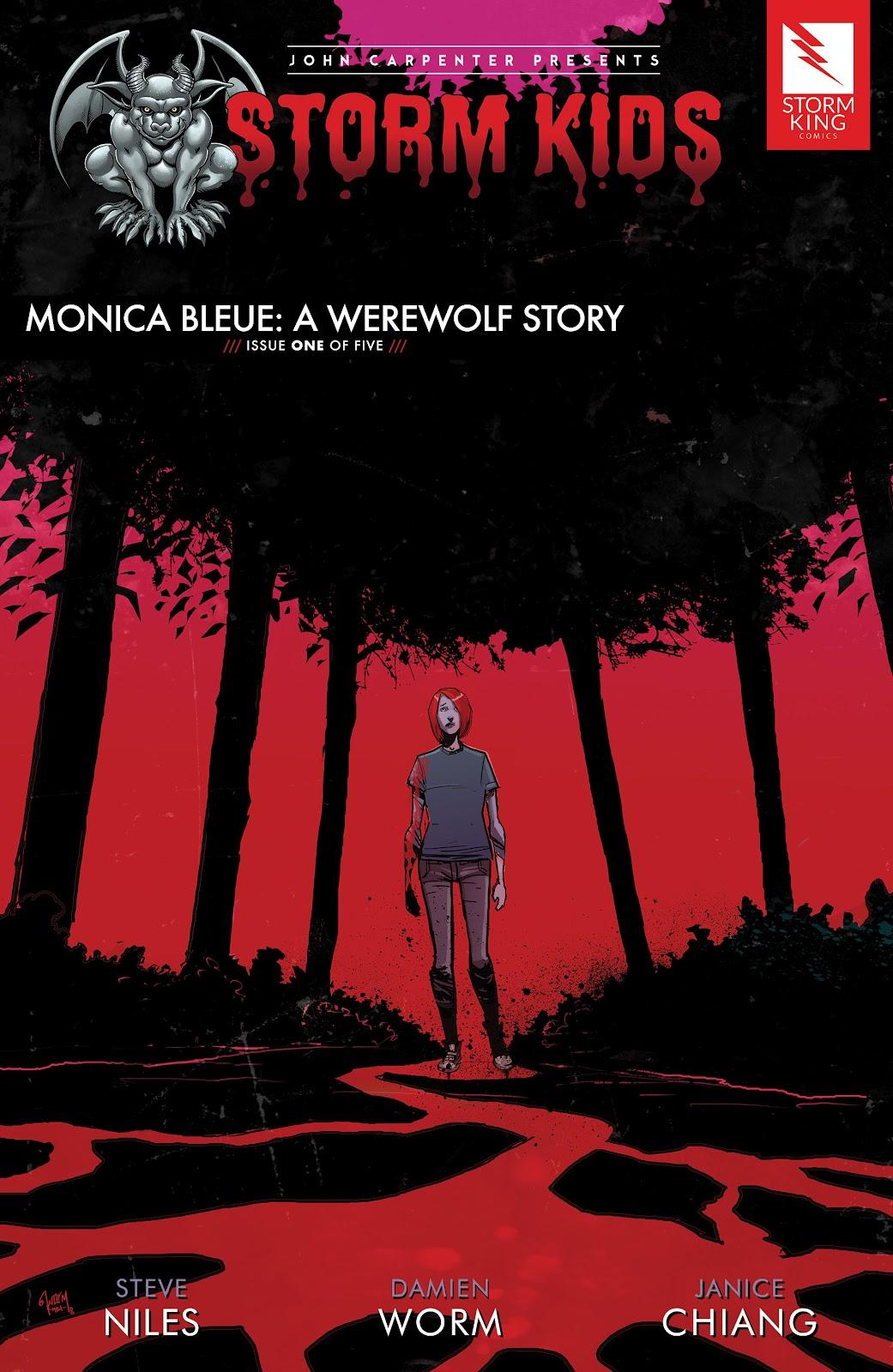 Read online John Carpenter Presents Storm Kids: Monica Bleue: A Werewolf Story comic -  Issue #1 - 1