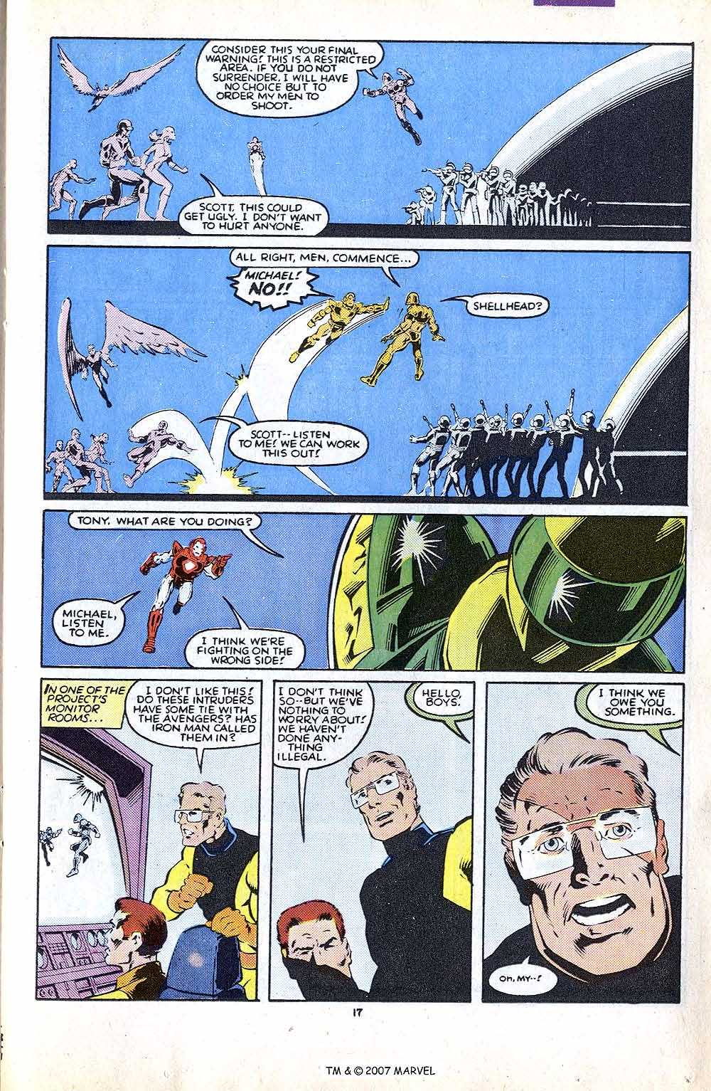 Iron Man Annual issue 8 - Page 23
