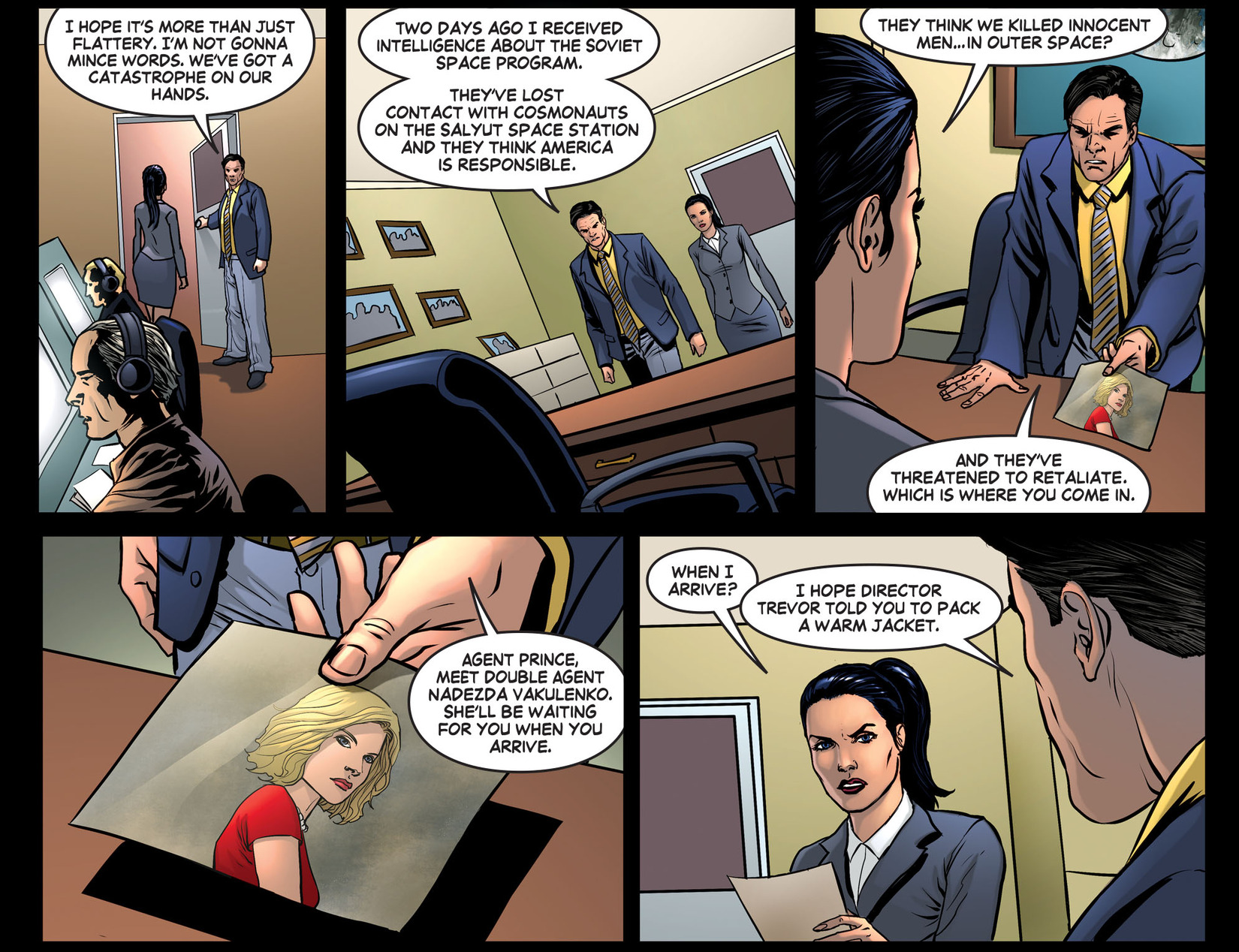 Read online Wonder Woman '77 [I] comic -  Issue #26 - 6