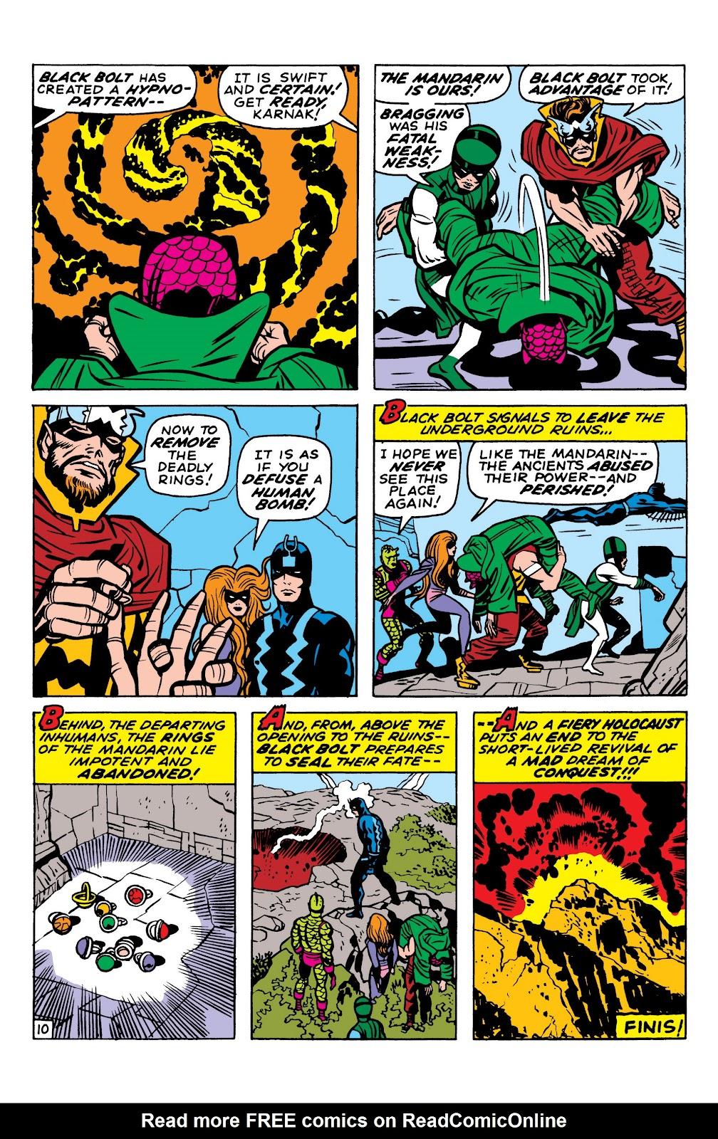 Read online Marvel Masterworks: The Inhumans comic -  Issue # TPB 1 (Part 2) - 12