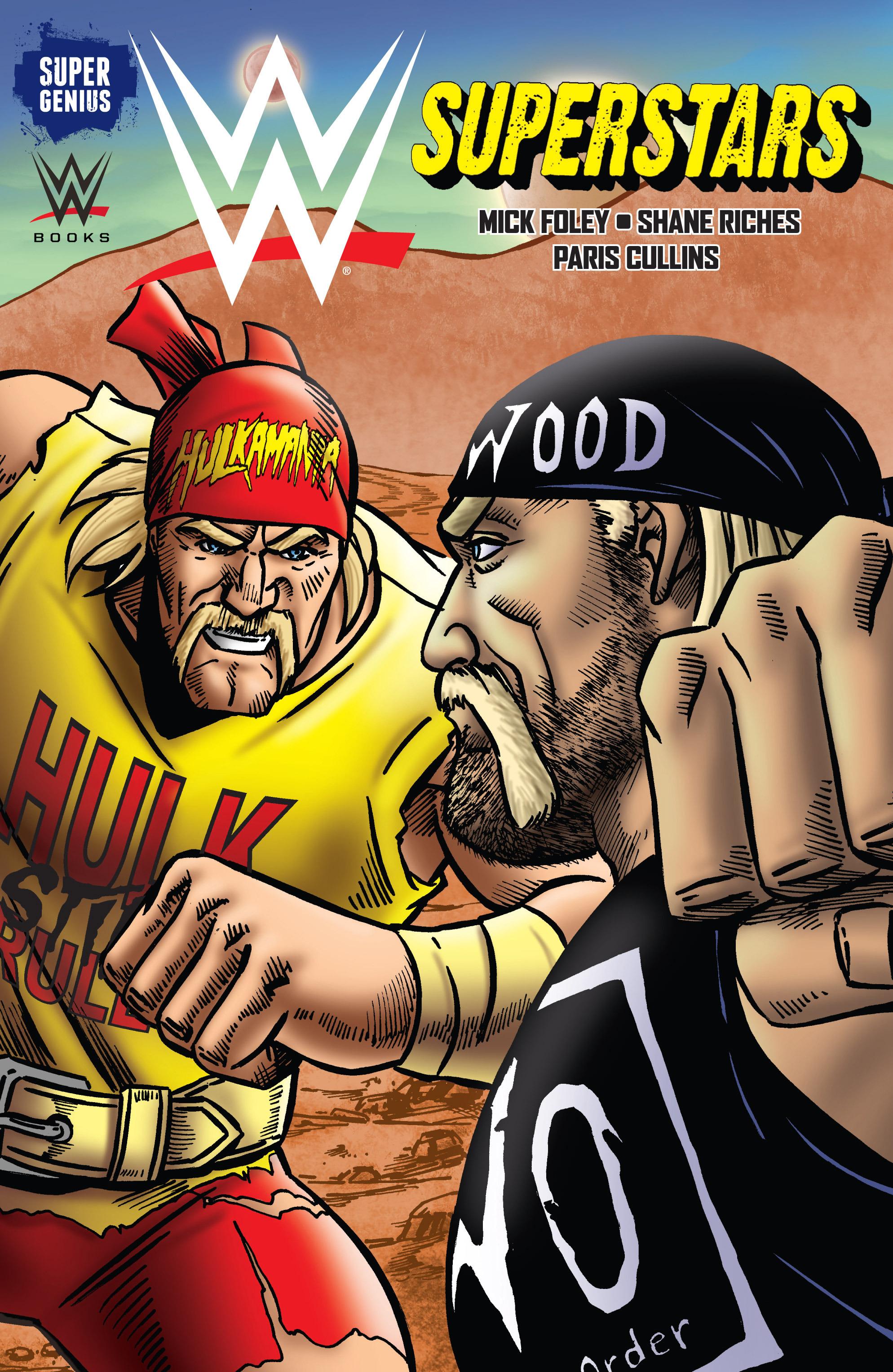 Read online WWE Superstars comic -  Issue #11 - 2