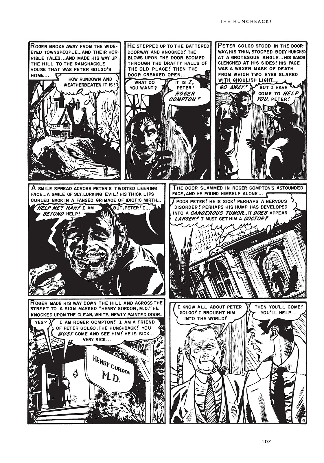 Read online Doctor of Horror and Other Stories comic -  Issue # TPB (Part 2) - 23