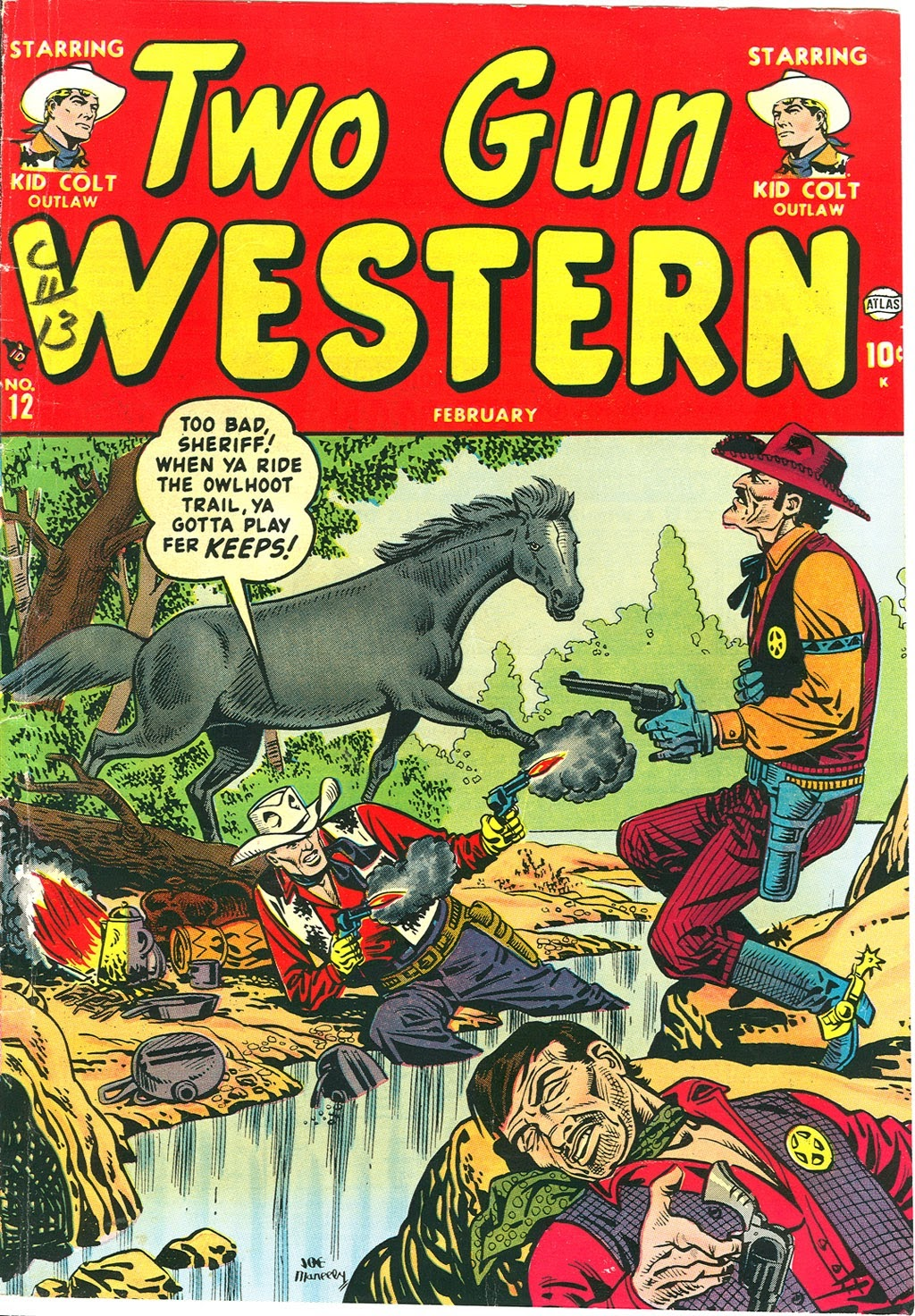 Two Gun Western (1950) issue 12 - Page 1