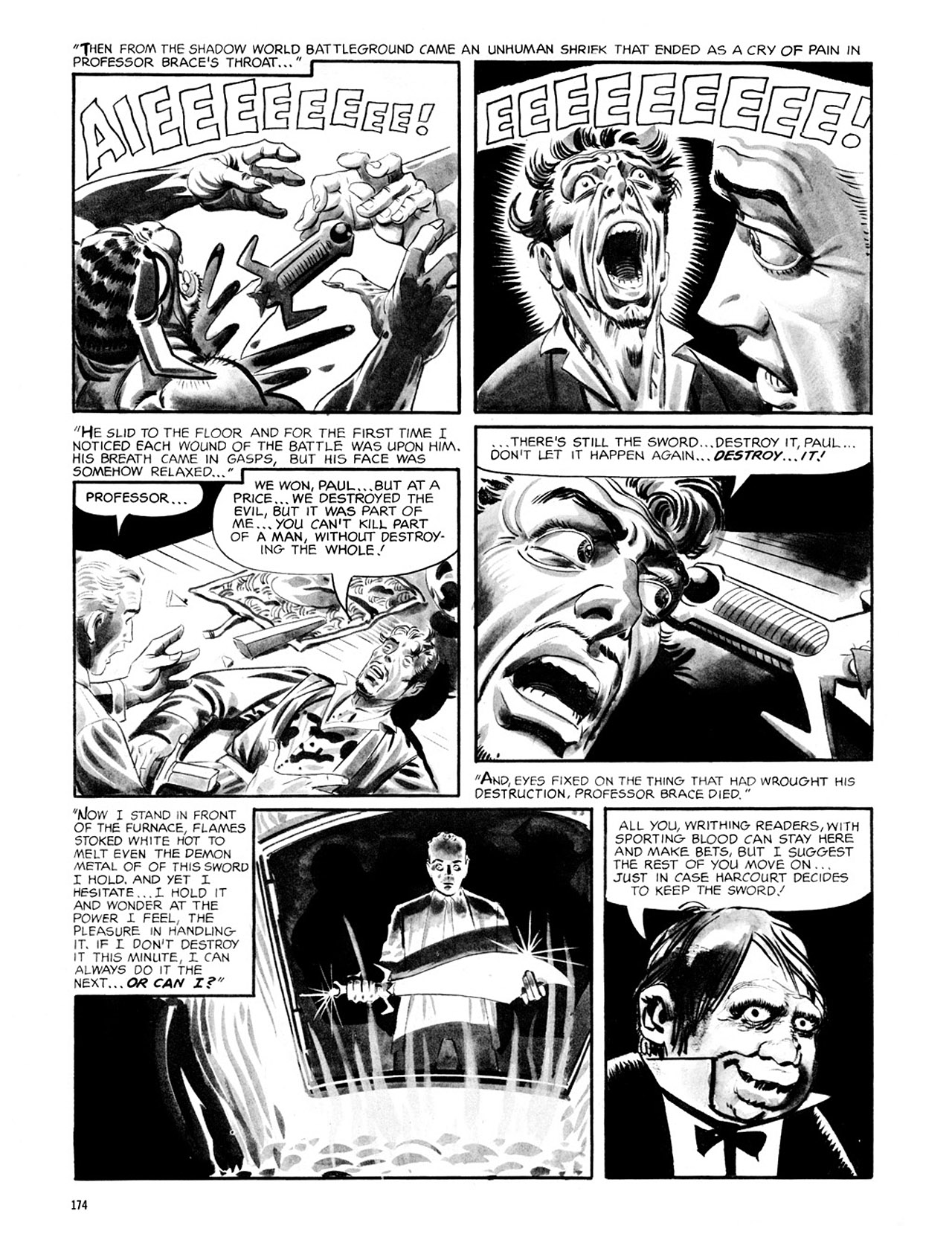 Read online Eerie Archives comic -  Issue # TPB 2 - 175