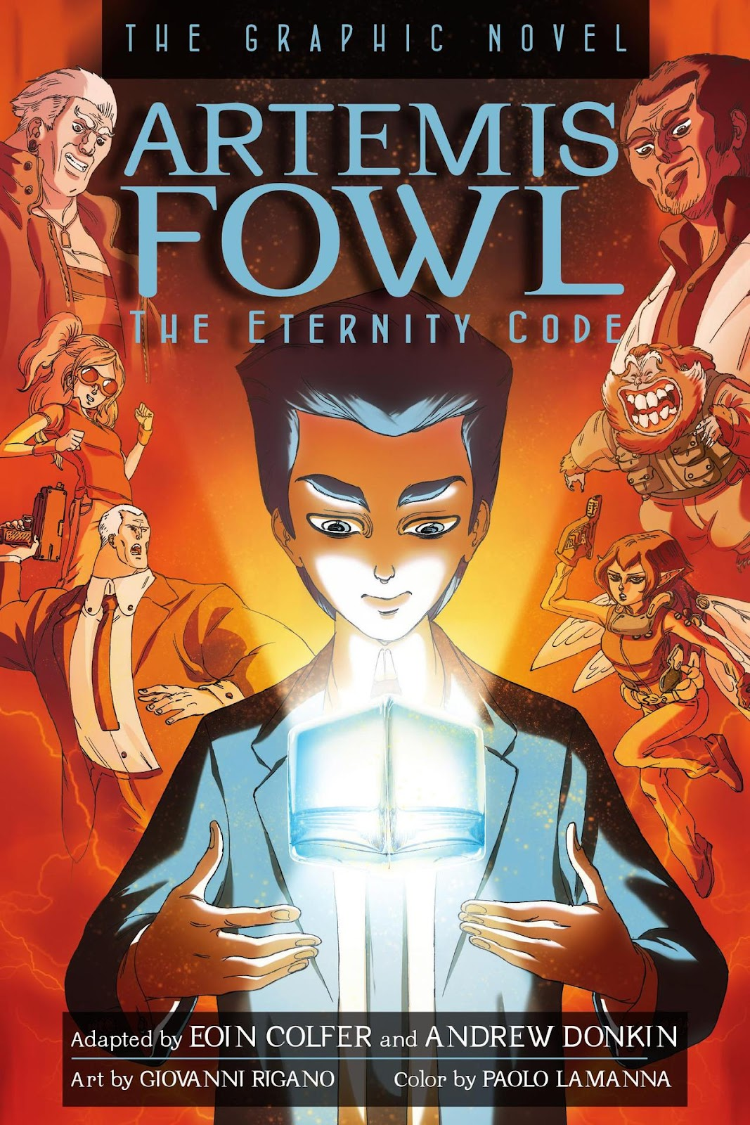 Artemis Fowl: The Eternity Code issue TPB - Page 1