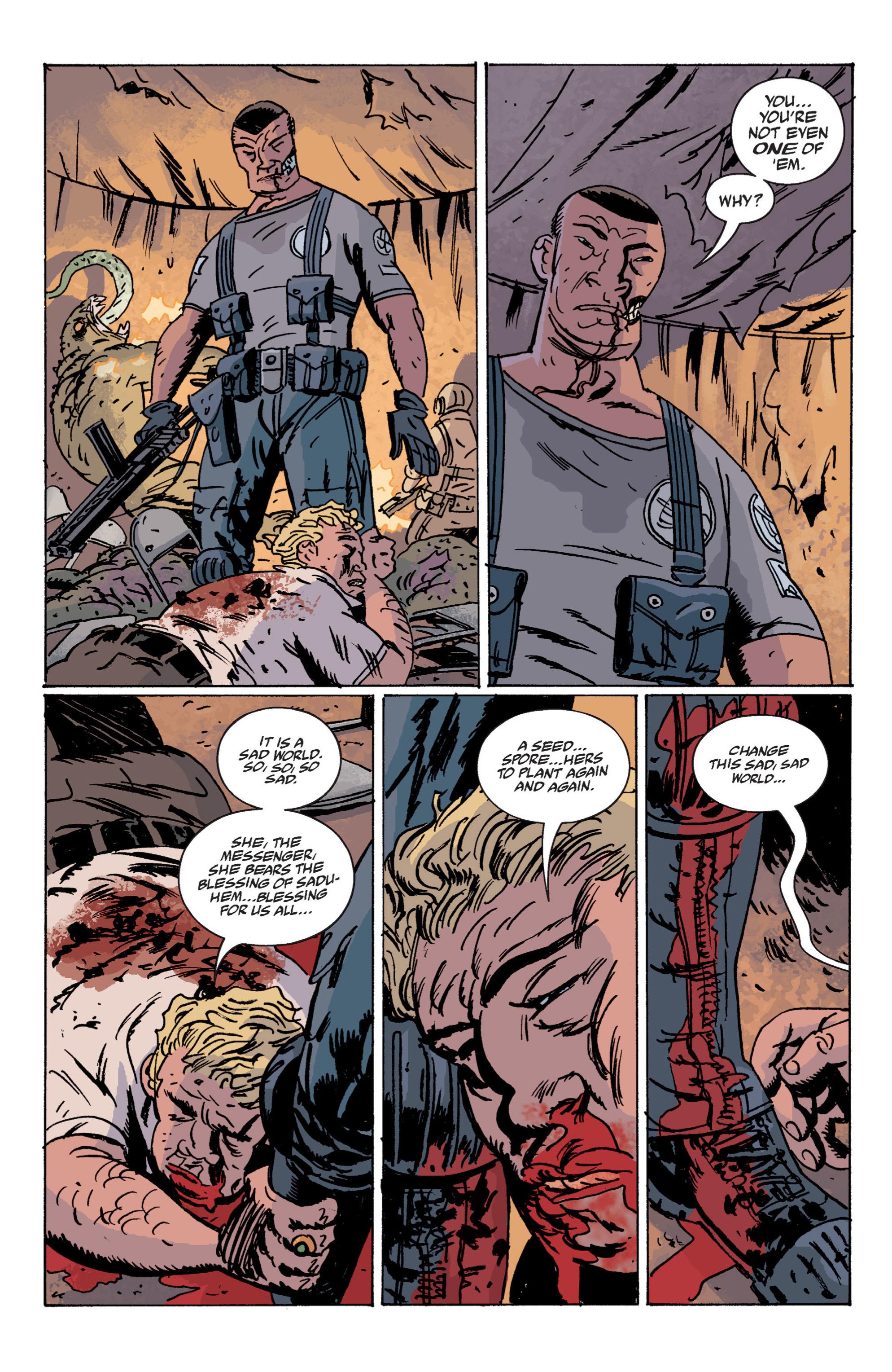 Read online B.P.R.D. (2003) comic -  Issue # TPB 12 - 53
