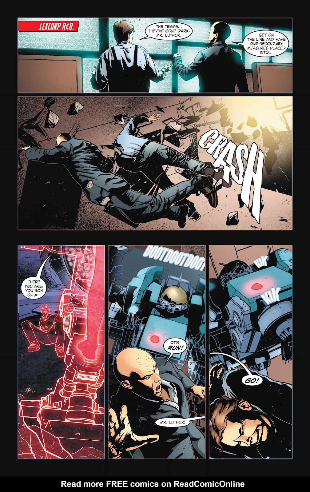 Read online Smallville Season 11 [II] comic -  Issue # TPB 6 - 38