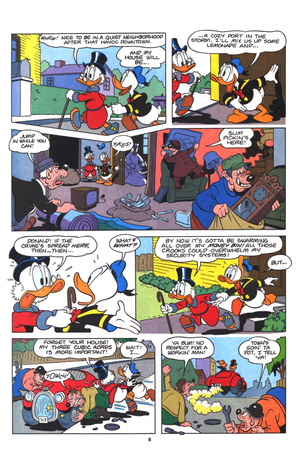 Read online Uncle Scrooge (1953) comic -  Issue #265 - 20