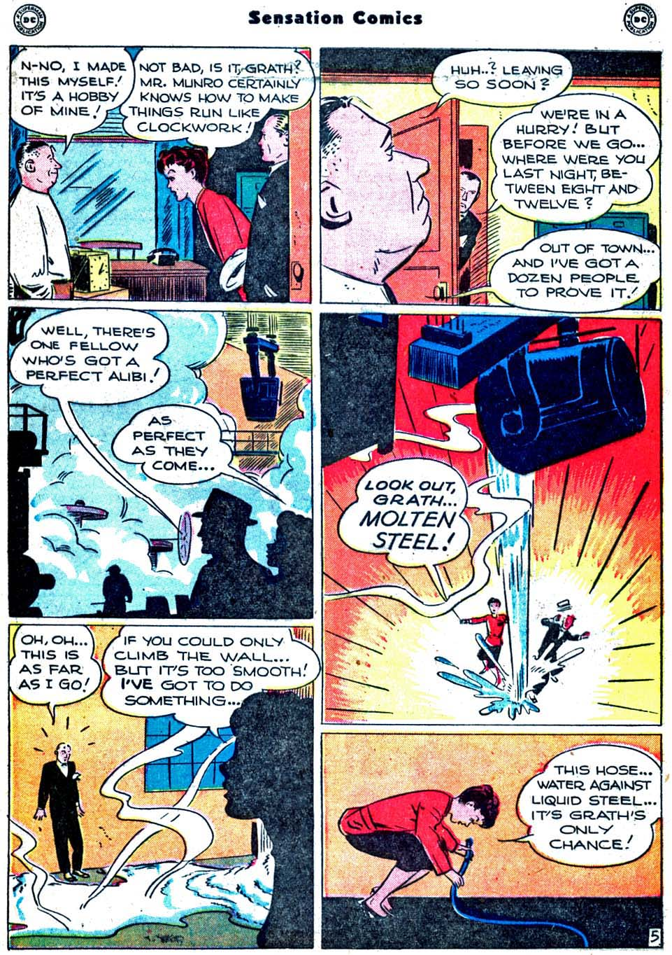Sensation (Mystery) Comics issue 91 - Page 43