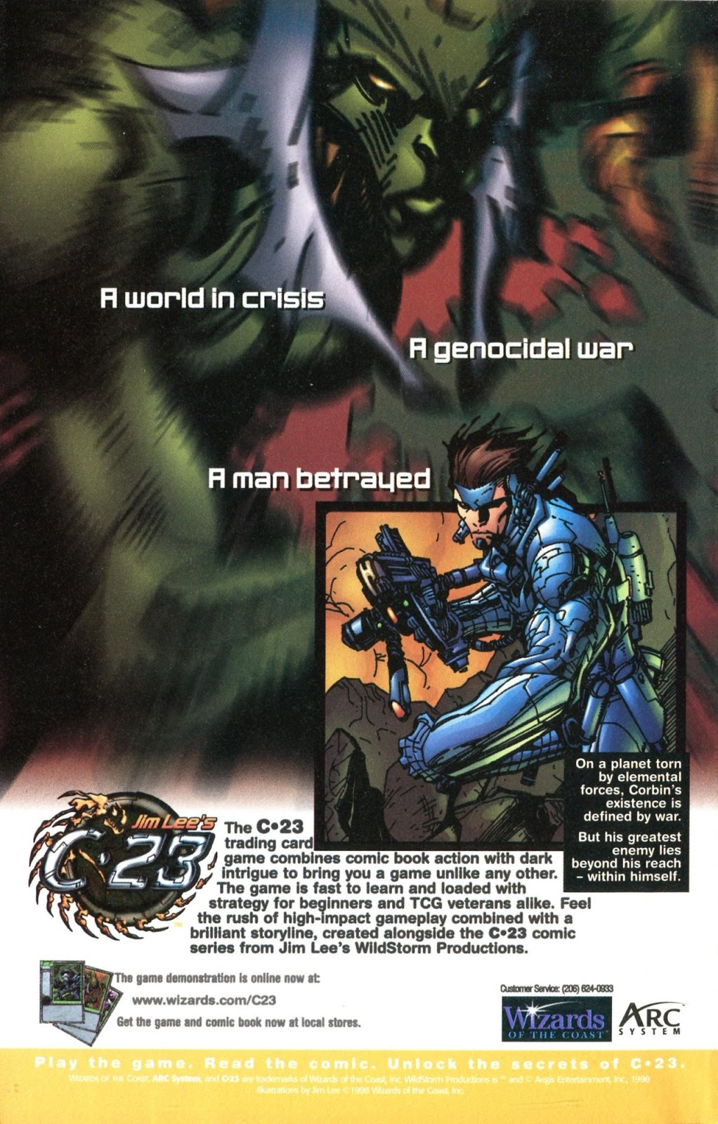 Read online C-23 comic -  Issue # _Ashcan - 6