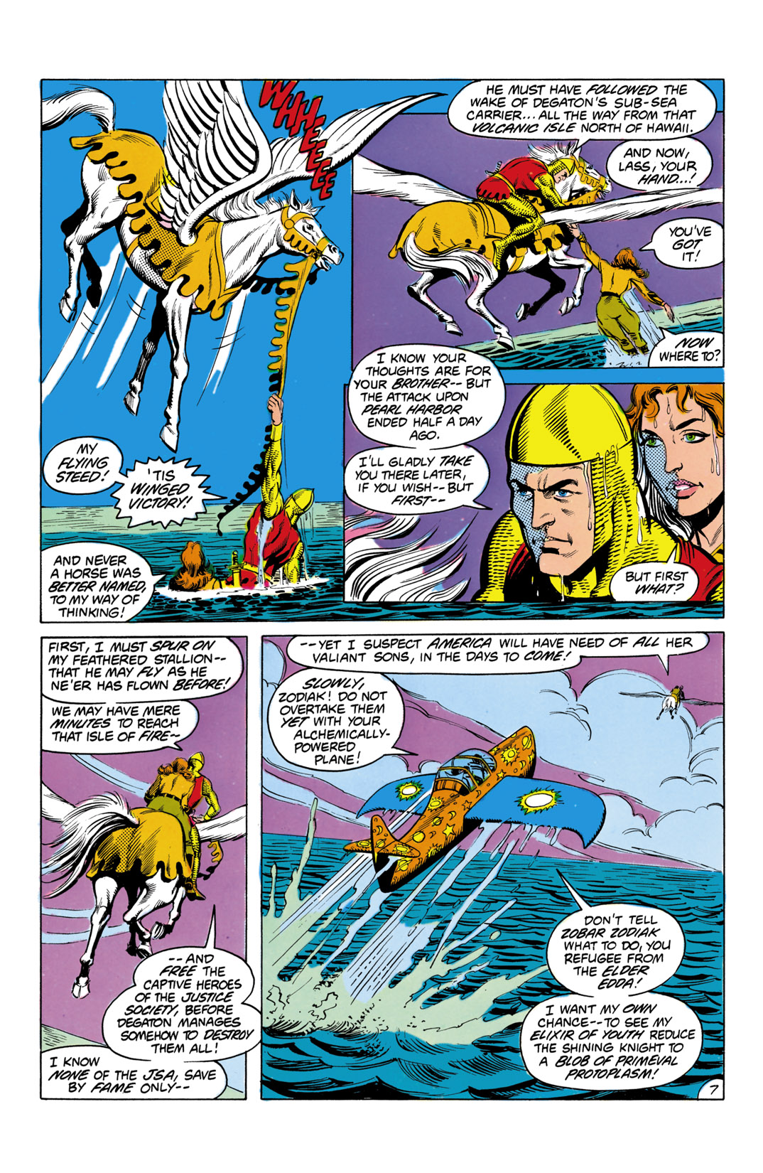 Read online All-Star Squadron comic -  Issue #3 - 8