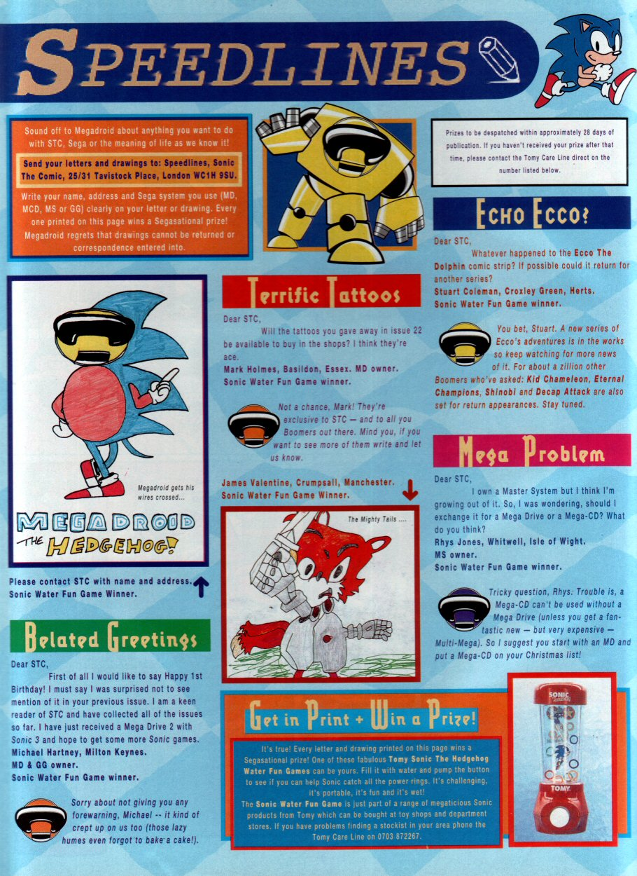 Read online Sonic the Comic comic -  Issue #33 - 29