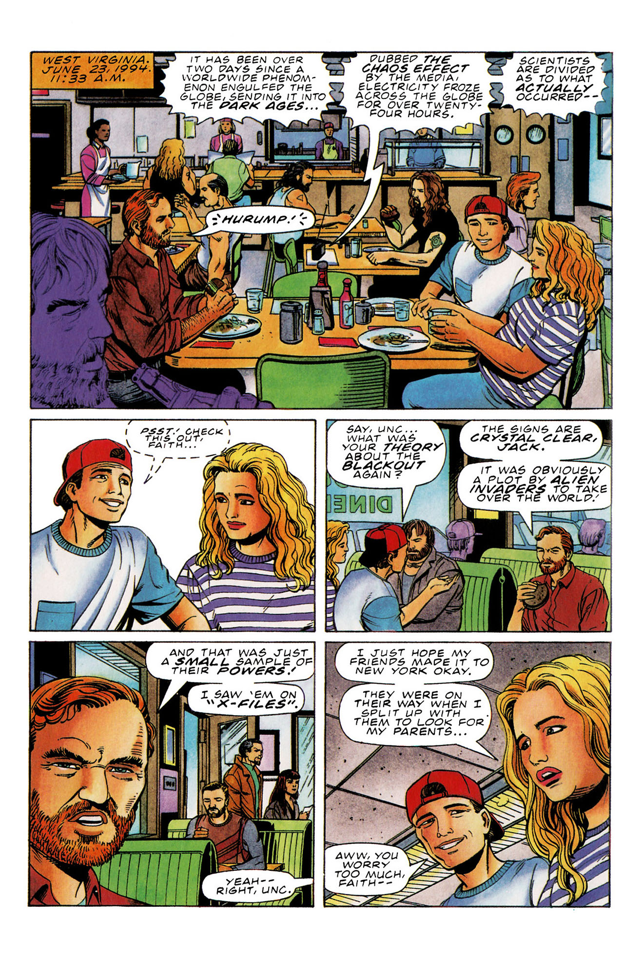 Read online Harbinger (1992) comic -  Issue #35 - 6