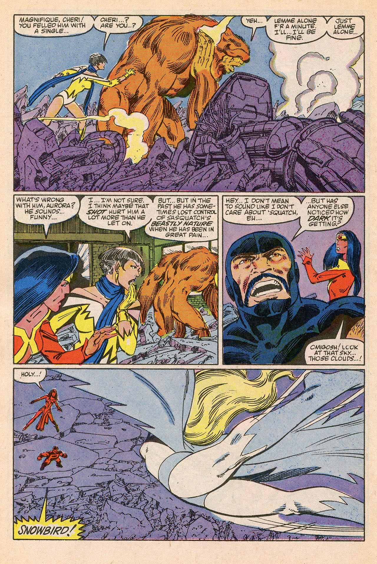 Read online Alpha Flight (1983) comic -  Issue #23 - 18